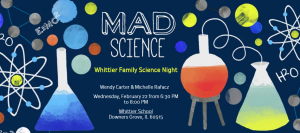 Whittier Family Science Night @ Whittier